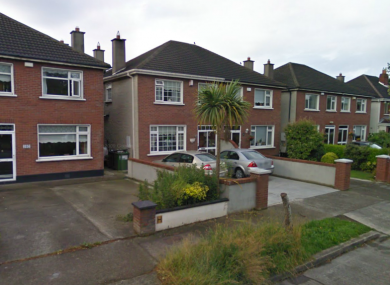 The Esker Park area in Lucan, where a man died in an overnight house fire.