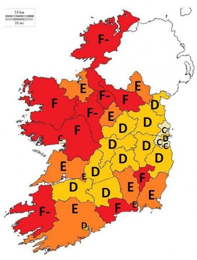 Ireland is Crap at Planning Map of the Day
