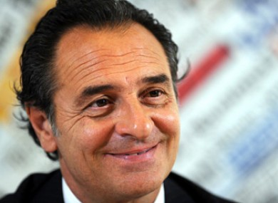 Cesare Prandelli will be hoping his side can improve on their recent results.