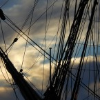 Another nautical phrase - a jib is a a triangular sail on a ship. It became known as a way of commenting on a person's appearance or demeanour in the 19th century when Sir Walter Scott used it in St Ronan's Well.