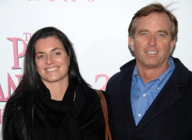 Mary Richardson Kennedy and her estranged husband Robert F Kennedy Jr at a film premiere in 2009