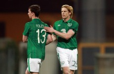 Foley feels 'betrayed' after axing from Euro 2012 squad