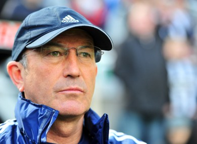 Tony Pulis: sticking by midfielder.