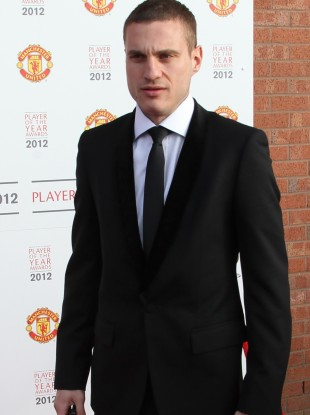 Vidic attends United's end of season awards do.