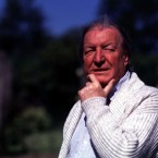 Haughey on the grounds of his estate in 1988. Pic: Photocall Ireland