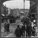 Cork's St Patrick's Street, photographed circa 1905.  (Library of Congress, Prints & Photographs Division)