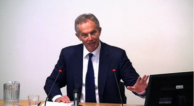 Tony Blair afterwards
