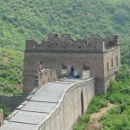 But the unrestored section between Jinshanling and Simitai is far less travelled.