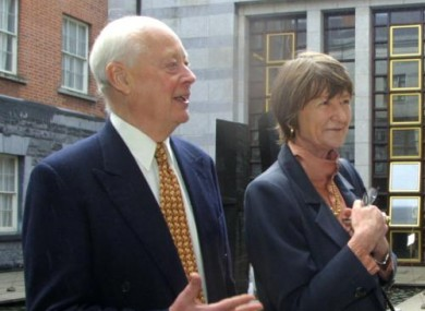Charles Handy and his wife Elizabeth, who also has a photographic exhibition in Dublin on 28 June.