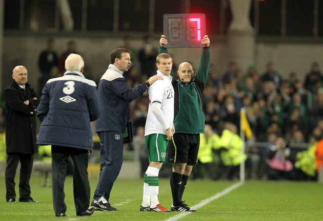 James McClean 29/2/2012