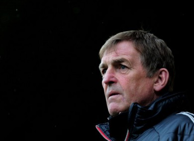 Kenny Dalglish: contract terminated by John Henry this week.