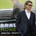 Brad Pitt's Oscar-nominated movie is among Zuck's film choices. (AP Photo/Ben Margot)