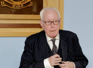 Justice Peter Smithwick in 2011