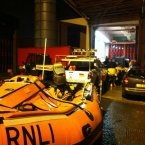 The RNLI Irish division Flood Rescue Team deployed from Dublin to Belfast to aid floor response. Two teams were deployed to Ballymena and Armagh.