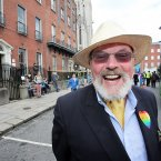 Senator David Norris at Pride (Photo: Stephen Kilkenny/LightCurvePhoto)