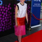 Actor Charlene McKenna arriving on the red carpet for the 50th anniversary special. (Photo by Darren Kinsella)
