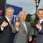 Pat Kenny, Gay Byrne and Ryan Tubridy. (Photo by Michael Chester)