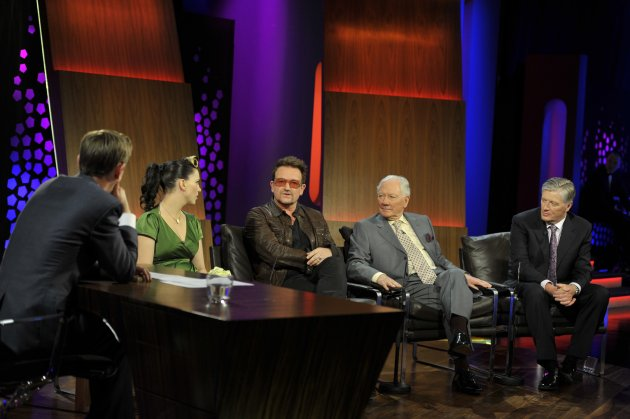 Ryan Tubridy interviewing Imelda May, Bono, Gay By