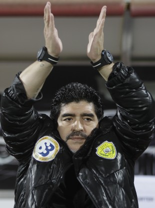 Diego Maradona believes Germany will emerge victorious in Euro 2012.
