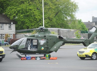 The Emergency Aeromedical Service will be based in Athlone for a 12-month trial.