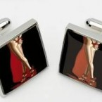 Ask yourself two questions: 1. How often does your dad wear cufflinks? 2. How often does your dad wear cufflinks depicting the bottom of a naked lady? Pic: ebay.ie