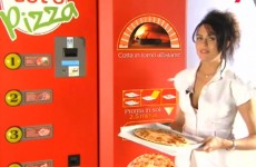 Vending machine in Dublin creates pizza from scratch…. in 2.5 minutes