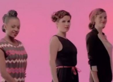 The Robert Palmer girls try out for careers in science