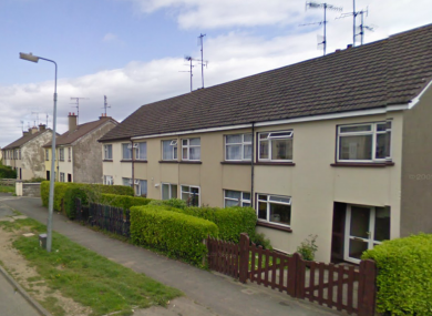 Sycamore Drive in Newtownmountkennedy, where the boy was injured this morning.