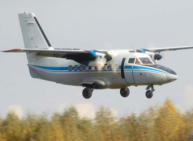 File photo of a turboprop L-410 (not the plane in the incident)