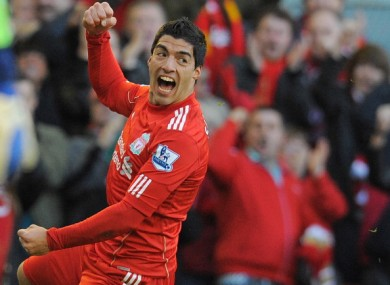 Luis suarez: set to stay on Merseyside, according to new manager.