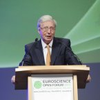 Nobel Laureate Jules Hoffman opens the Euroscience Open Forum 2012 in Convention Centre Dublin. Photo: Sasko Lazarov/Photocall Ireland