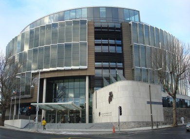 Courts of Criminal Justice in Dublin (File)
