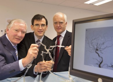 John O'Shaughnessy, Chairman, Neuravi,  Eamon Brady, CEO, Neuravi and Justin Lynch, Partner, Fountain Healthcare Partners