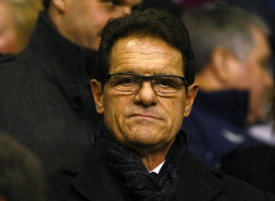Fabio Capello: may have one more pay day in him.