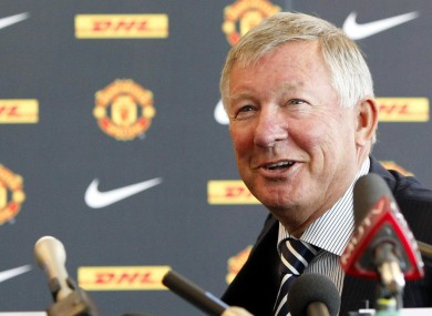 Alex Ferguson: we need to rebound.