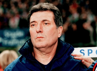 Lemerre at Euro 2000.