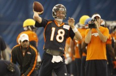 Peyton's place as starting Denver QB looks assured