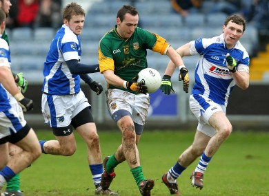 Meath's Graham Reilly will be in opposition to Laois tomorrow.