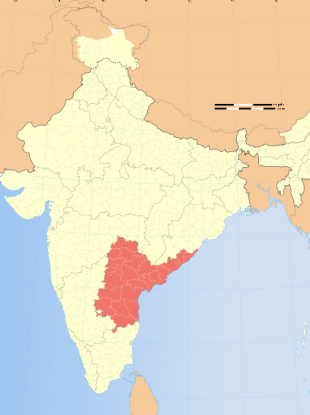Andhra Pradesh province in India