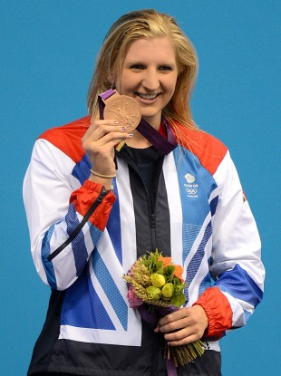 Adlington won gold for Great Britain at Beijing 2008.