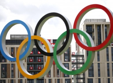 The Olympic rings each symbolise a different continent.