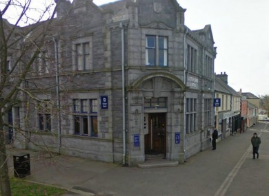 The Ulster Bank branch in Castlewellan