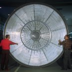 1973: Viking's aeroshell which protected the lander during its entry into the Martian atmosphere. (Image: NASA)