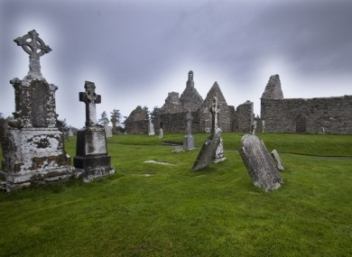 The Christian Monastic Site at Clonmacnoise on the eastern banks of the River Shannon in County Offaly, which dates from the mid- 6th century