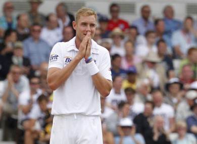 Stuart Broad. 