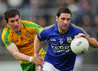 Kerry's Bryan Sheehan will face Donegal's Patrick McBrearty tomorrow.