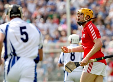 Cork's Cathal Naughton will be pushing for a starting place next Sunday.