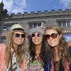 Lauren Mullane, Marie Hall and Vikki Culliton pictured at Castlepalooza (Picture: Tony Kinlan)