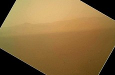 In photos: NASA's Curiosity sends first pictures from Mars