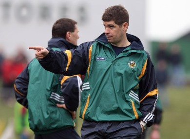 Pointing The Way: New Kerry senior football manager Eamonn Fitzmaurice.